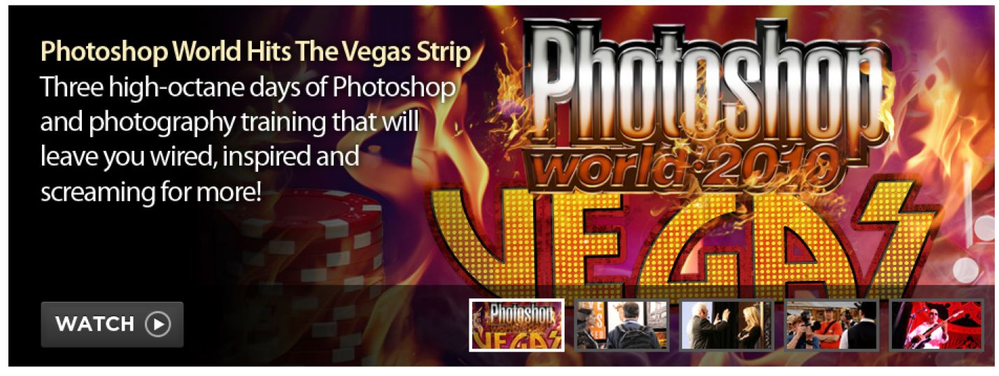 photoshop world is the amazing training you ll receive on photoshop